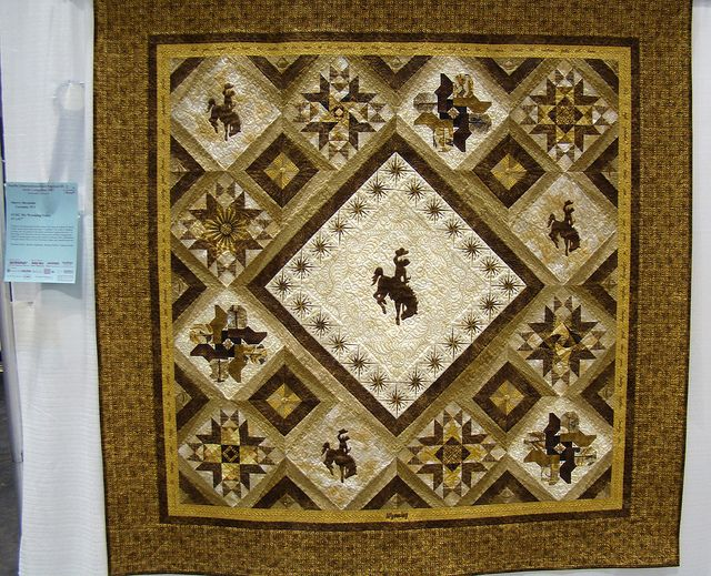 Cowboy Quilt Patterns | ... : Innovative Quilts at Pacific International Quilt Festival XX