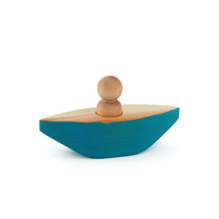 "Wooden ""Little Blue Canoe"" by From the Seeds"