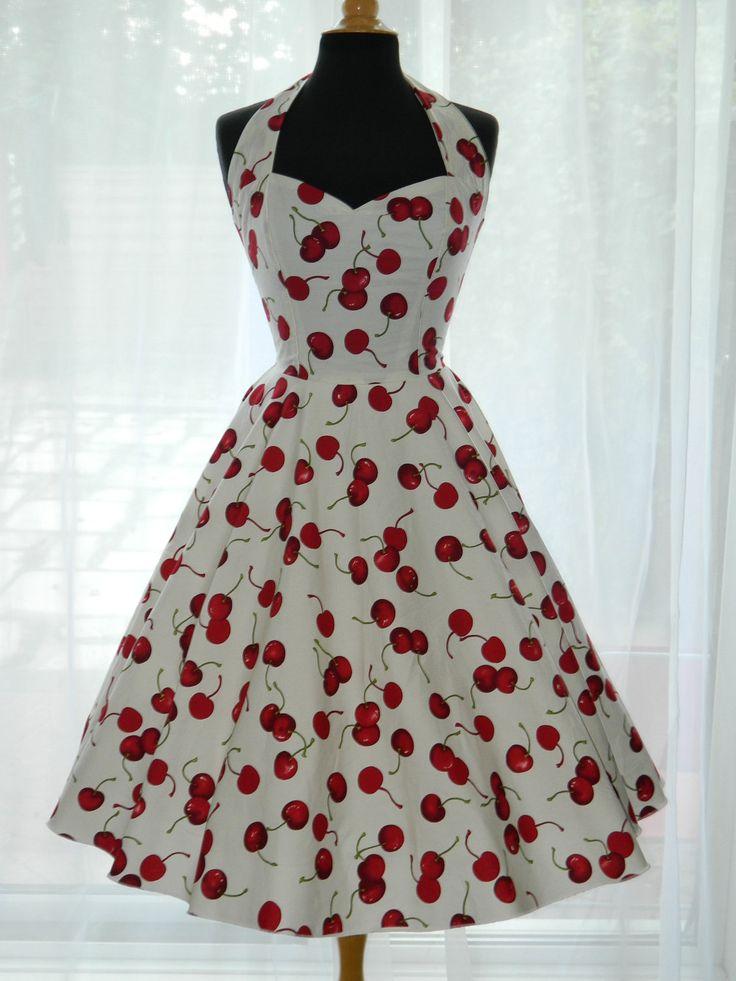 Vintage/50s/Rockabilly Halter Style Dress