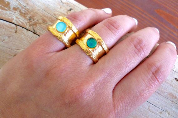 Hey, I found this really awesome Etsy listing at https://www.etsy.com/listing/270122408/band-ring-blue-ring-adjustable-ring