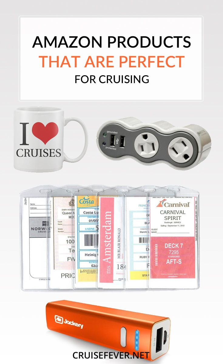 Here are some great products that are found on Amazon that come in extremely handy while on a cruise.  We have personally tested most of the products listed on this page and never cruise without them.