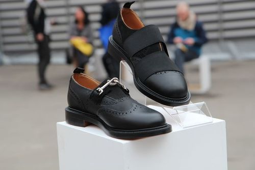 Art Comes First (ACF) presents The COAL, Art Installation @ Pitti in Florenence.   Shoes designed by ACF (made by NPS Shoes)