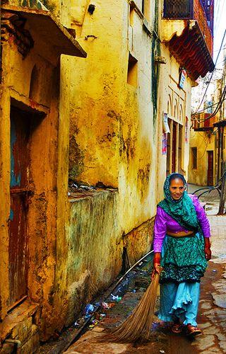Mujer en la India