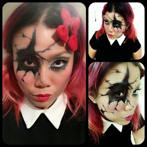 Broken doll for Halloween 2015! #rachelwmua