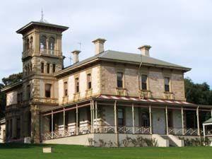 The beautiful Struan House. Naracoorte