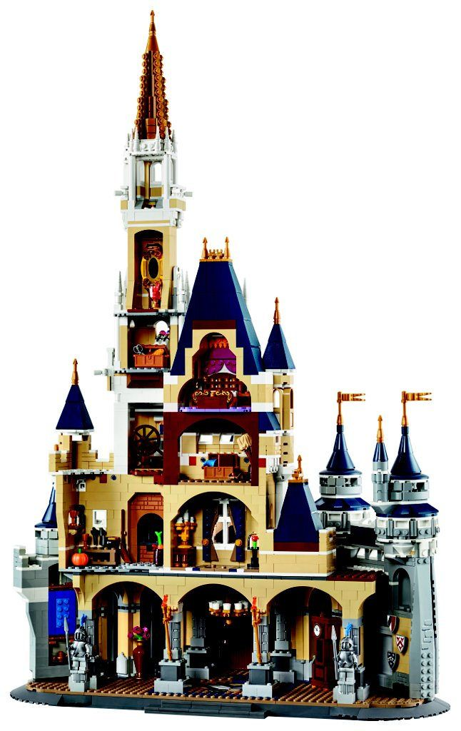 GiocoVisione  -  LEGO Disney World 71040 - Cinderella Castle  -  4080 pieces | $349.99 Release: 2016?  More on www.giocovisione.com/lego-disney-71040-castello-cenerentola/