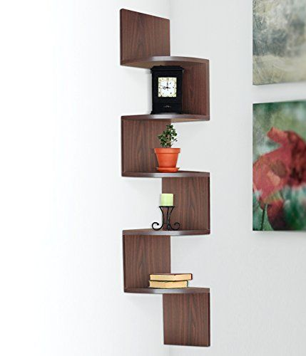 Halter Hanging Corner Storage Shelf With Large Surface