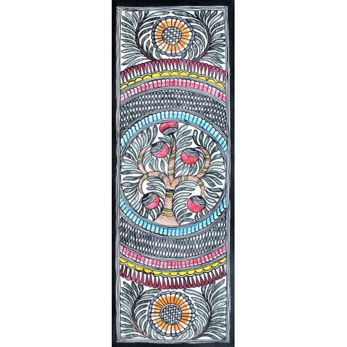 COLORED SEQUENCE http://www.indiancraftsmen.com/art-c4ca4238a0b923820dcc509a6f75849b/madhubani/colored-sequence