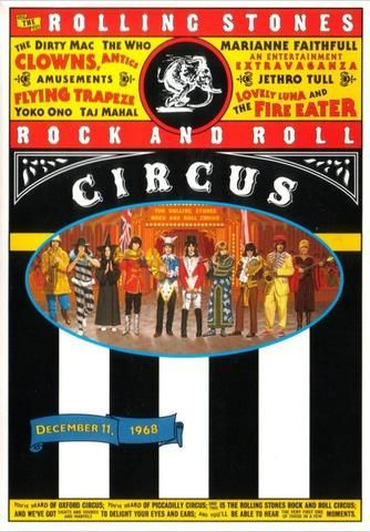 The Rolling Stones - Rock and Roll Circus - Mini Print