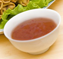 Plum Sauce is easy to make and can be served hot or cold. Recipe...http://www.chineserecipes.com/sauces/plum-sauce