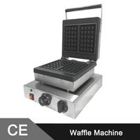 Stainless Steel Commercial Waffle Maker_Waffle Maker Machine_ Belgian Waffle Machine