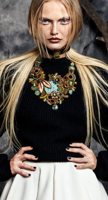 Dori Csengeri necklace   AIBIJOUX, Fashion jewelry