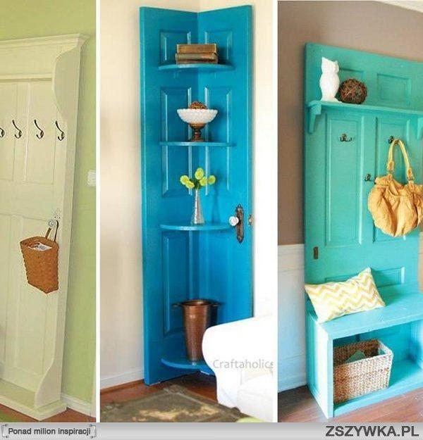 Pomysł na stare drzwi