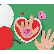 Valentine Craft and Diversity. Show how to say I Love You in