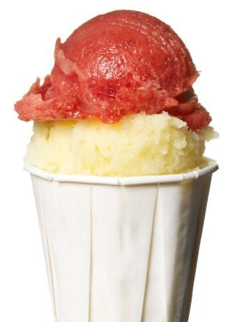 #FNMag's Italian Ice - Besides a blender, you don't need any special equipment to whip up this frozen dessert.: Food Network, Network Kitchen, Sweet, Frozen Treats, Italian Ice Recipe, Frozen Desserts, Ice Cream, Icecream