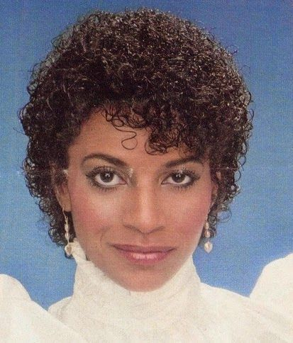 1980's style Jheri Curl