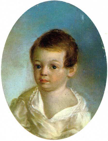Ксавье де Местр. `Пушкин - ребенок`. 1801-1802 гг.