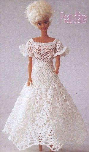 patrones para barbie   knitted items   pinterest   crochet barbie