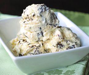 Εύκολο σπιτικό παγωτό με τραγανή γκοφρέτα σοκολάτας