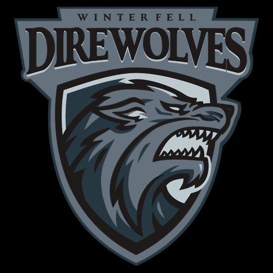 Winterfell Direwolves | Fake Sports Teams | Logos, Sports ...