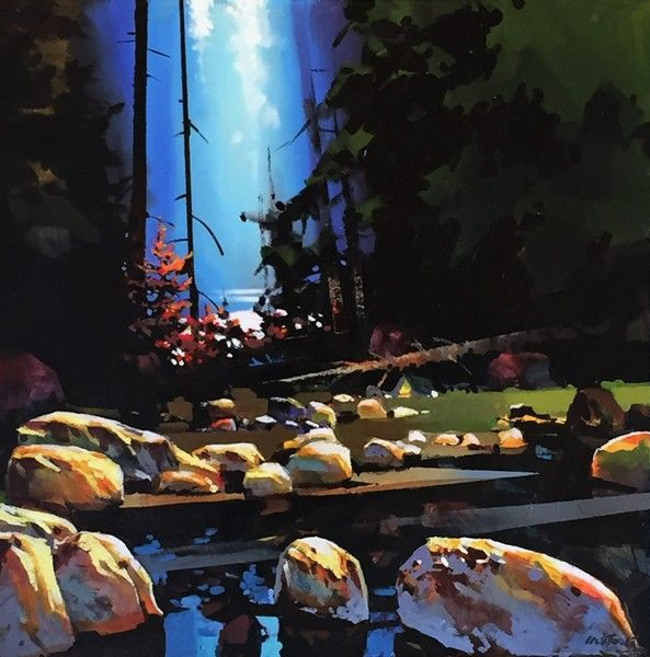 Michael O'Toole Distant Glow - Lynn Canyon