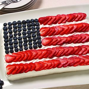 Independence Cake | Desserts from Culinary.net | Pinterest