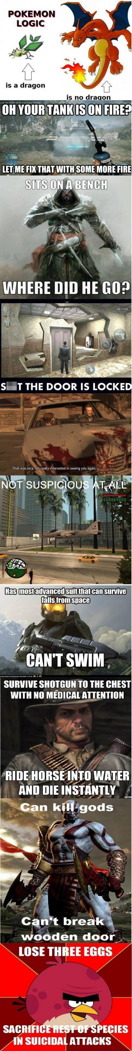 Video Game Logic