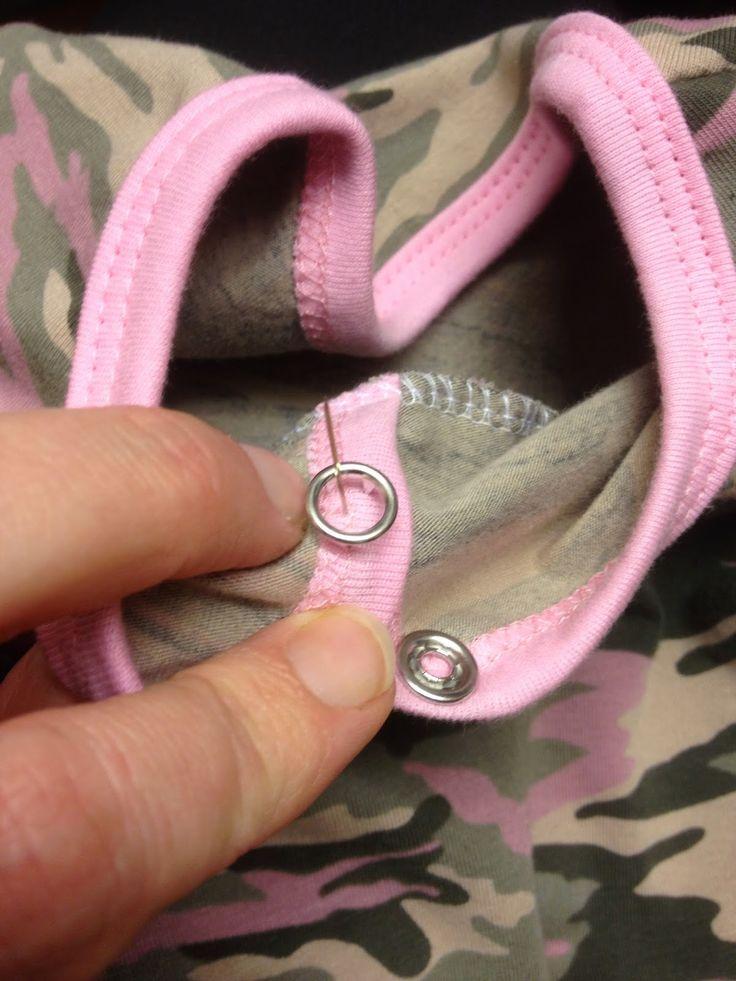 Tutorial: Hur jag sätter knappar med prym-tång.