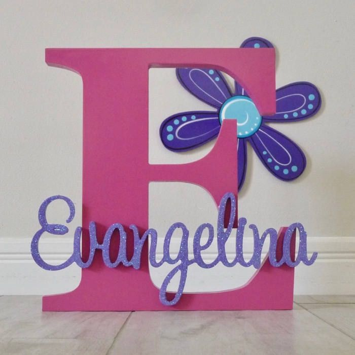 Wooden Letters Kids Name Signs Wall Letters Personalised