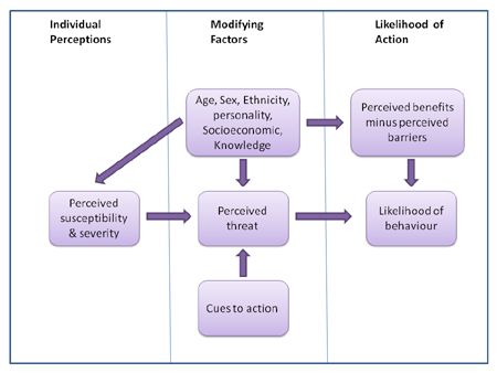 The Health Belief Model and Social Marketing