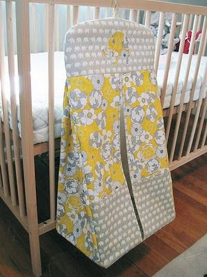 Sew Beautiful Blog: Shannon's Elephant Diaper Stacker - plan on making this to match the other items in the nursery, I think it will work just fine for cloth diapers, as well!