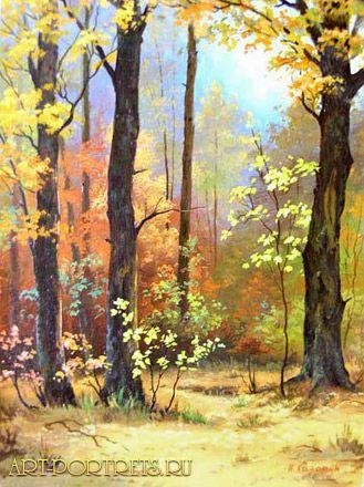 Autumn leaves oil