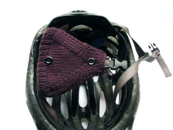 Hand-knit ear warmers!
