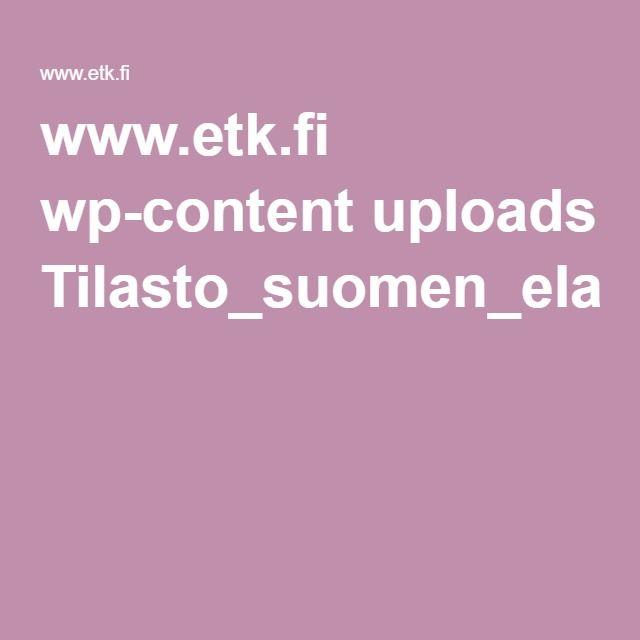 www.etk.fi wp-content uploads Tilasto_suomen_elakkeensaajista_2014.pdf
