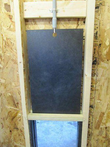 guillotine dog doors 1