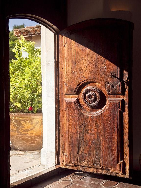 Rustic front doors look so dreamy. Rustic front doors look so dreamy. & 141 best Beautiful Doors Both New u0026 Antique.....So Creative! images ...