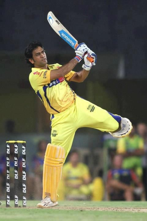 Dhoni's Helicopter shot