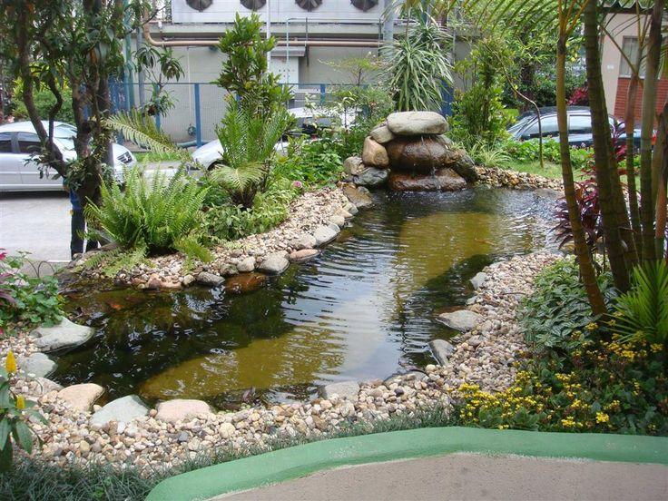The 25 best cascata artificial ideas on pinterest lagoa for Artificial pond