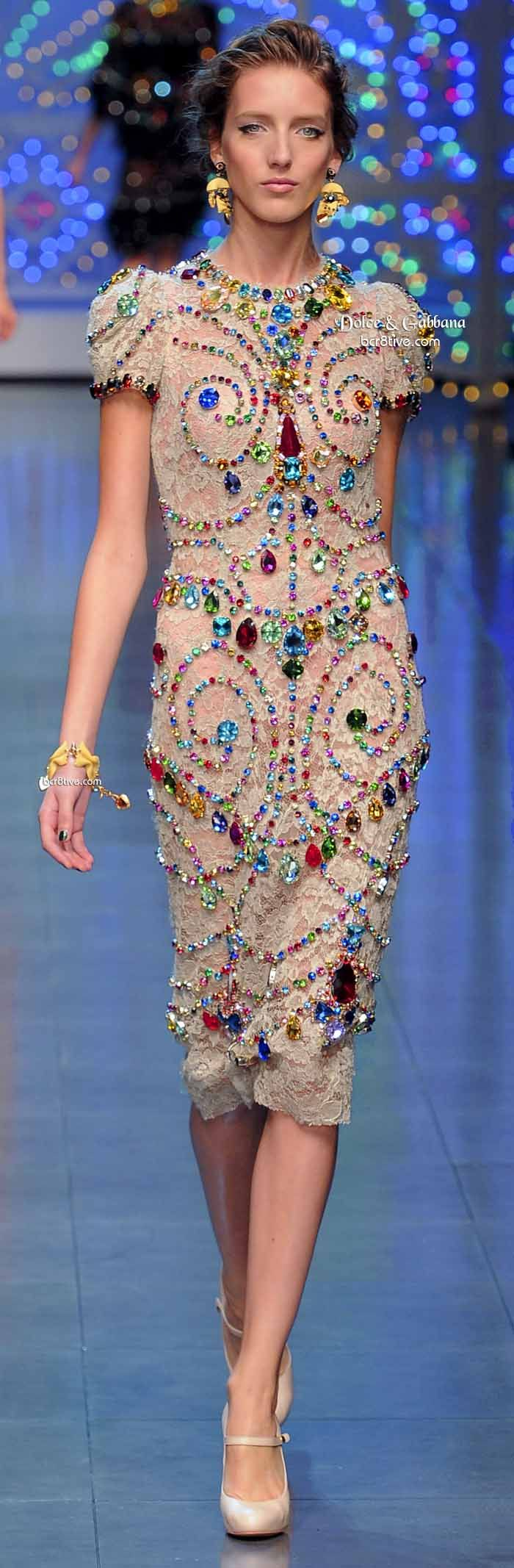 Dolce & Gabbana Milan Week December 2013 BEAUTIFUL I'd love but ...... I don't have enough $$$$$