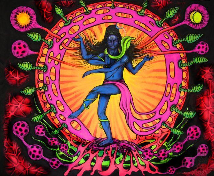 Psychedelic GoA • Psy deco at UV Bar Goa..