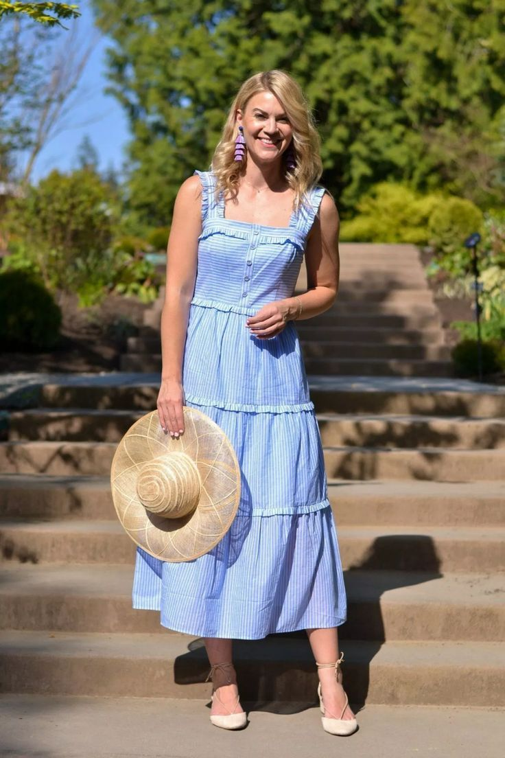 What To Wear On The 4th Of July Whit Wanders 4th Of July Outfit Ideas Summer Outfit Ideas Red Spring Outfits Casual Summer Maxi Dress Midi Dress Summer [ 1104 x 736 Pixel ]