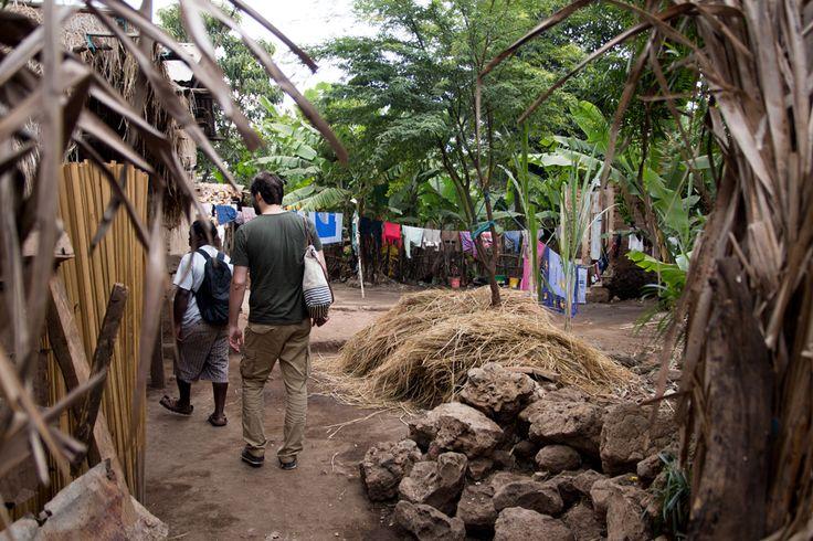 Tansania Safari: Ein Spaziergang durch das Mto wa Mbu Village #mtowambu #lakemanyaranationalpark #tanzania #guide