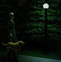 alex colville - night walk, (1981)