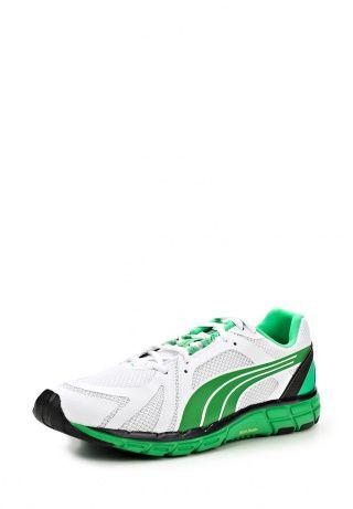 Мужские кроссовки от Puma - отличный вариант для тренировок. Верх модели создан из искусственной кожи и дополнен вставками из сетчатого текстиля. Детали: внутренняя отделка из искусственной кожи, плотная подошва с рисунком, надежная шнуровка, ярко-зеленые вставки. http://j.mp/1t0MWKN