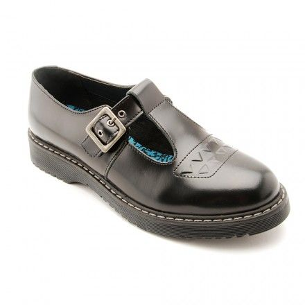 Attitude, Black Leather Buckle Girls School Shoes - Girls - School Shoes http://www.startriteshoes.com/school-shoes/