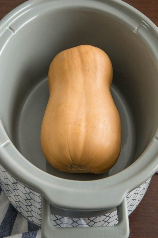 The Easiest Way to Cook a Butternut Squash Is in Your Slow Cooker — Tips from The Kitchn | The Kitchn