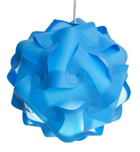 Infinity Lights  Puzzle Lamp Shade Kit Sea Blue Small Color Sea Blue Size Small Model >>> Check this awesome product by going to the link at the image.