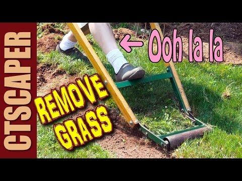 How To Remove Sod By Hand The Easy Way Youtube Garden