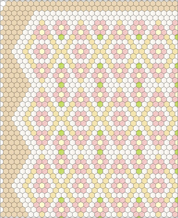 I have to tell you, when I got done with my Grandmother's Flower Garden hexagon quilt I was at a loss as to what project to have in my trave...