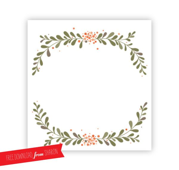 Editable Christmas Place Cards By Digital Art Star